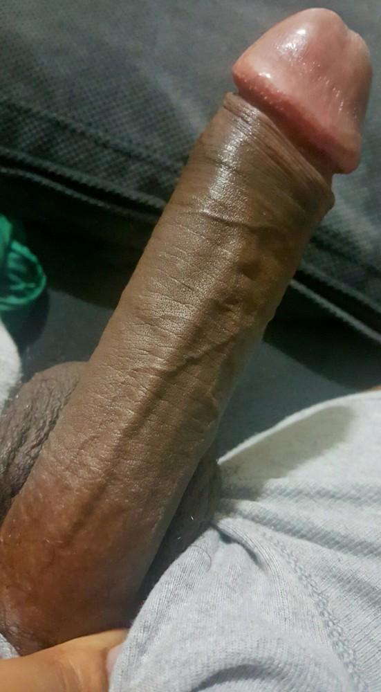 Mooie rechte lange negerpik